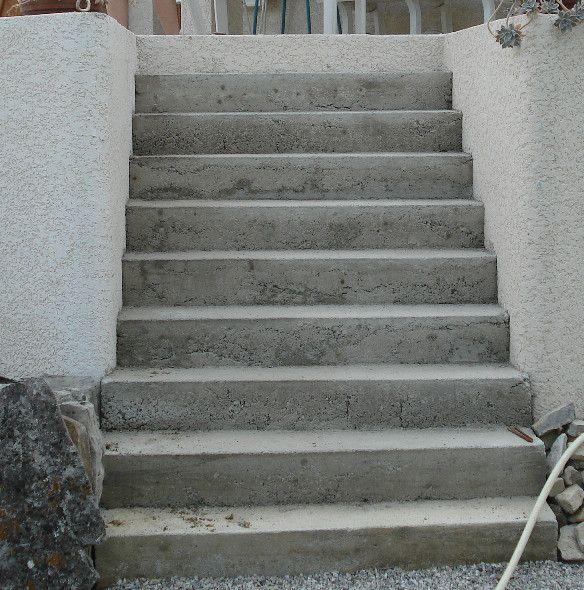Escalier en b ton op rationnel - Fabriquer un escalier en beton ...